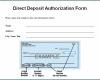 Free Printable Bank Letter For Direct Deposit