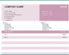 Free Printable Basic Invoice Template
