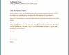 Free Printable Business Letter Writing
