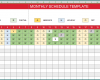 Free Printable Monthly Work Schedule Template Excel