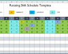 Free Printable Rotating Shift Schedule Template