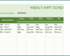 Free Printable Schedule Template For Employees