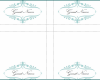 Free Printable Tent Card Template Word