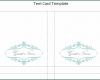 Free Printable Tent Card Template