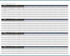 Free Printable Weekly Employee Schedule Template Excel