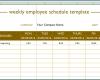 Free Printable Weekly Employee Schedule Template