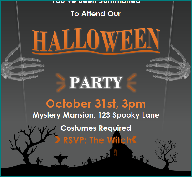 Event Invitation Template