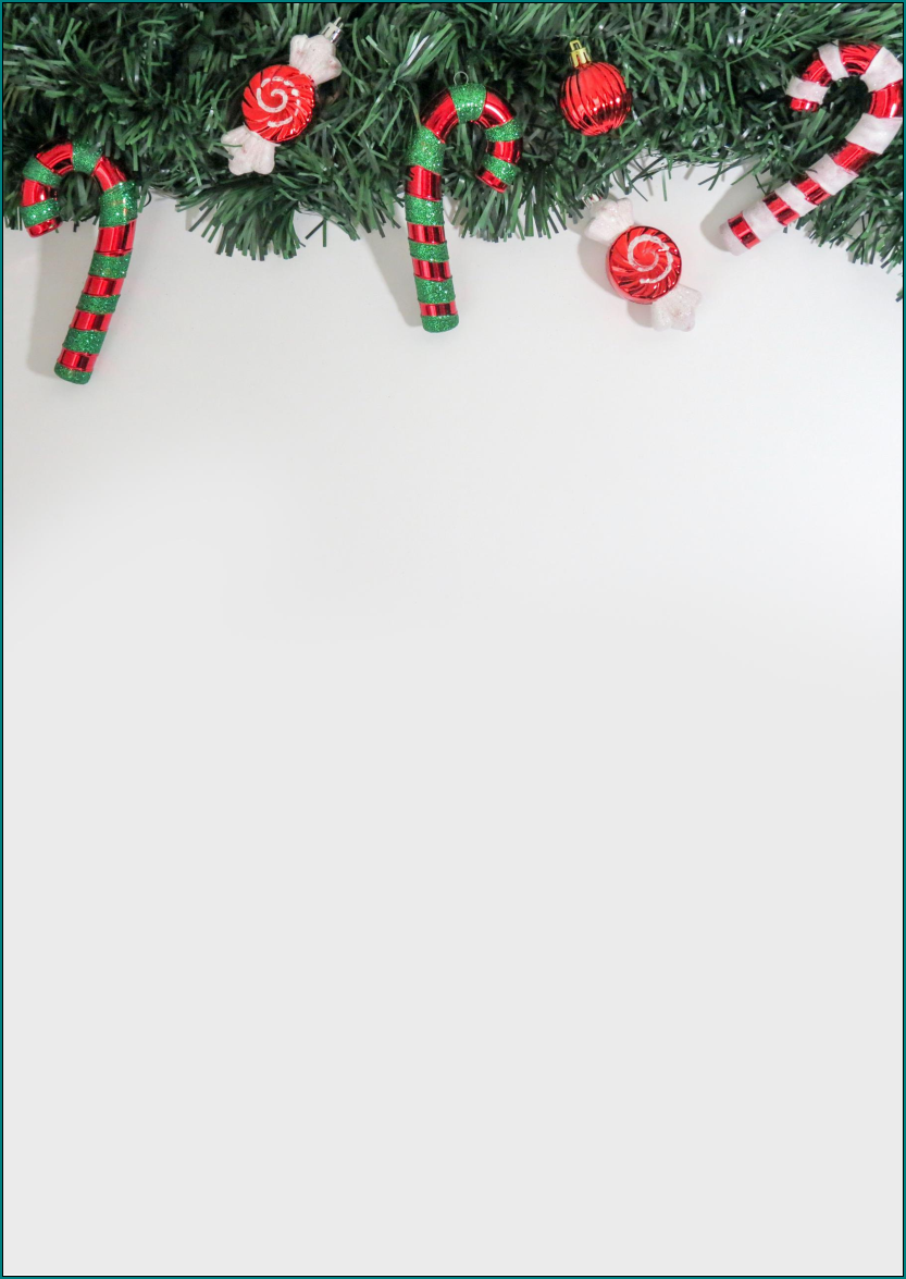 Example of Christmas Letter Template