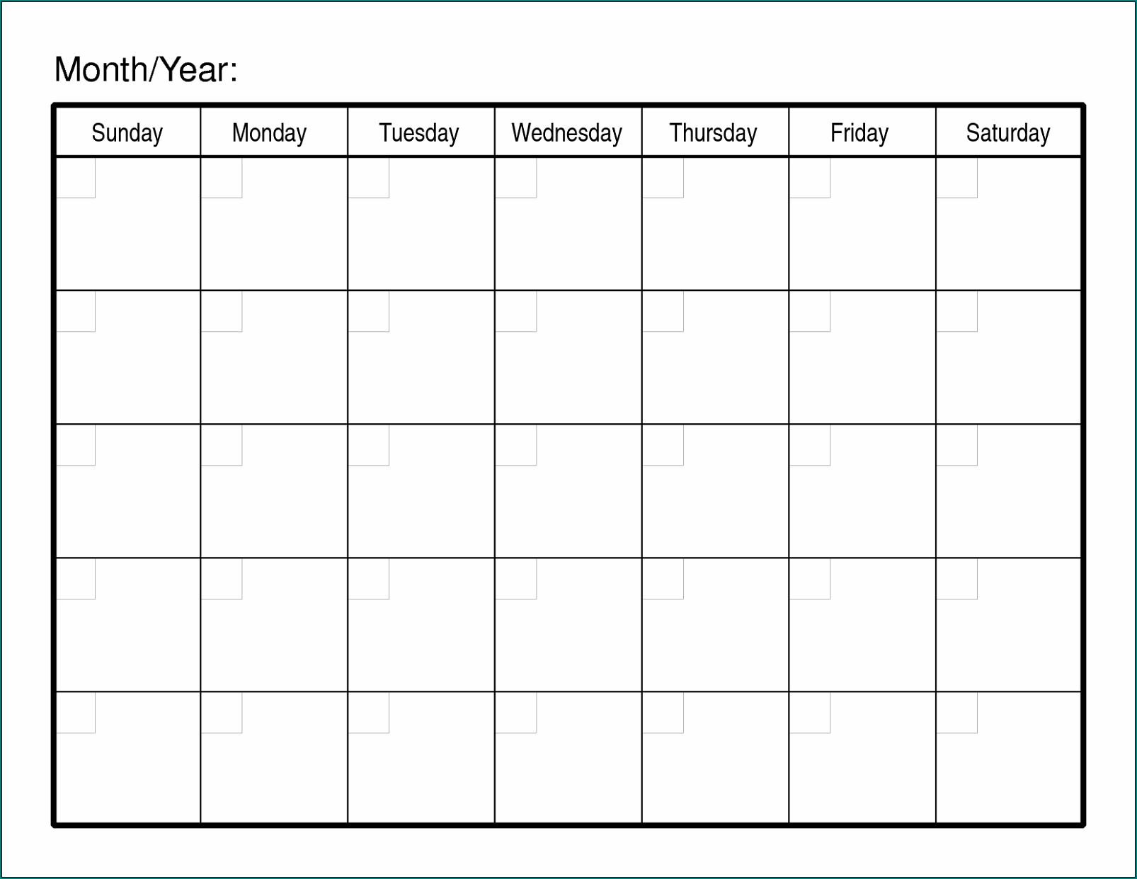 Monthly Employee Schedule Template Sample