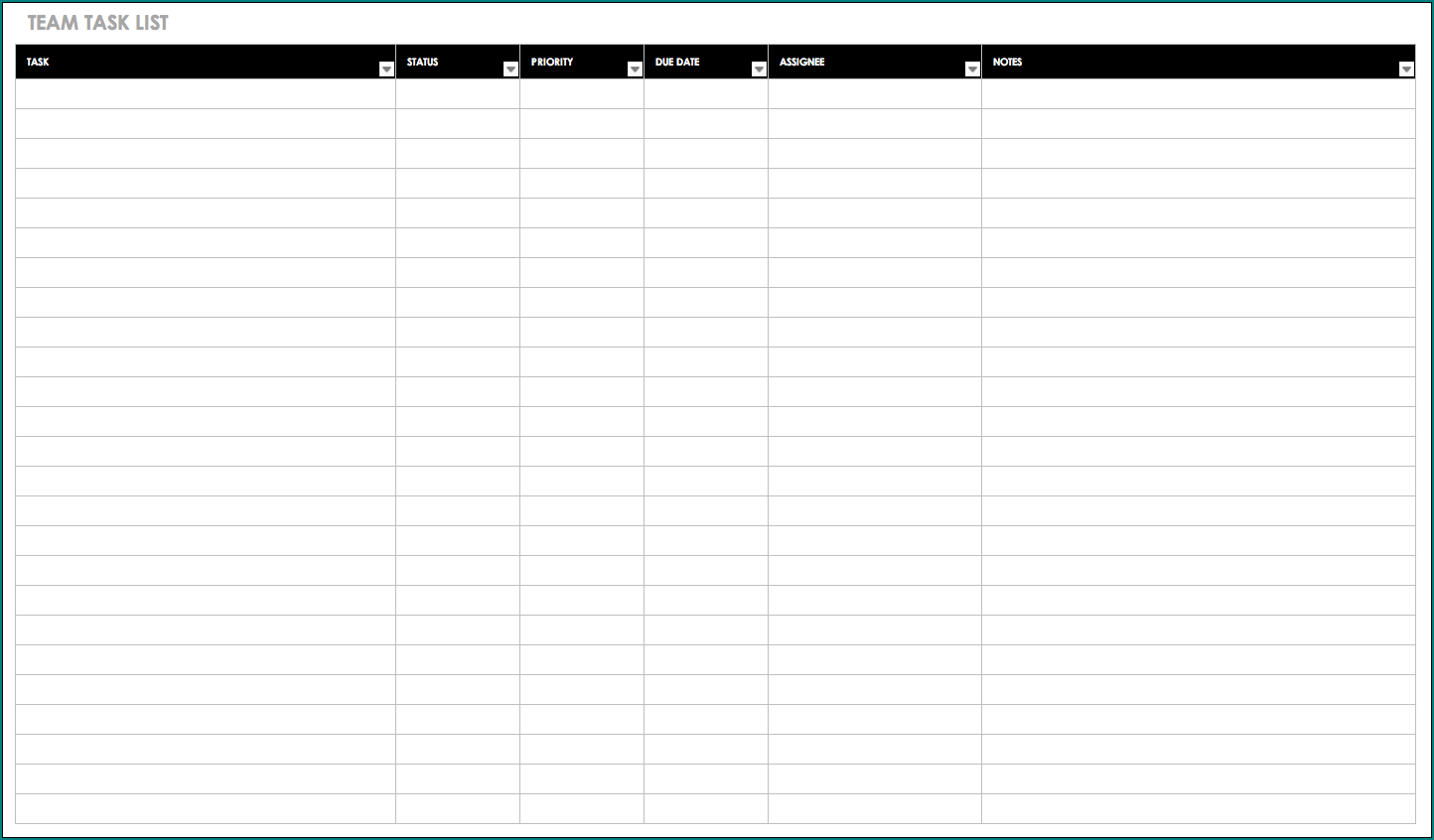 Weekly Task List Template Excel from www.bogiolo.com