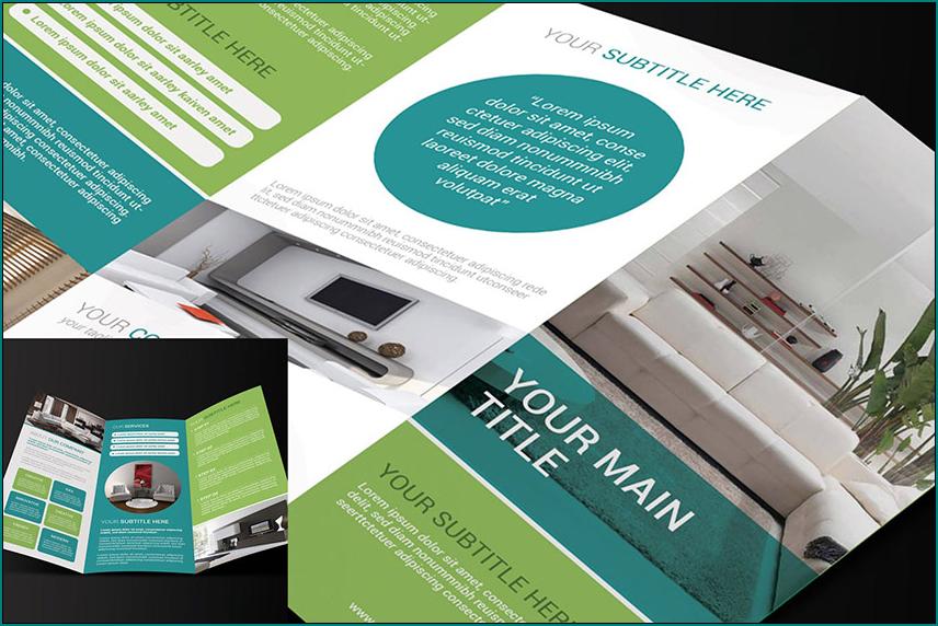 Sample of Tri Fold Brochure Template