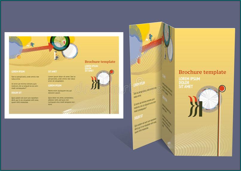 Sample of Z Fold Brochure Template
