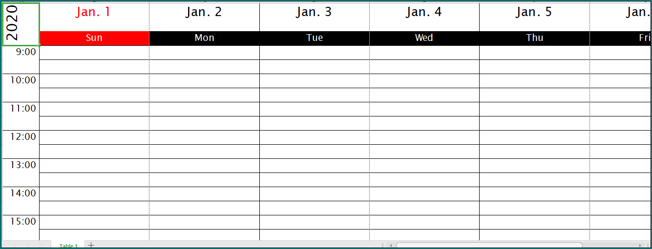 Schedule Appointment Template